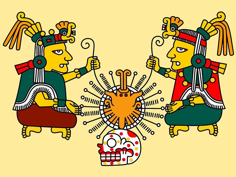 Ometéotl Dios Azteca